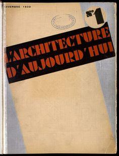 L'Architecture d'aujourd'hui