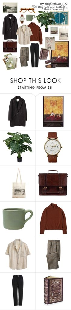 """""""average oscar wilde"""" by littlebitterguy ❤ liked on Polyvore featuring Étoile Isabel Marant, Triwa, Borders&Frontiers, Polaroid, Beara Beara and canvas"""