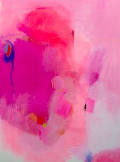 Falling slowly by Jenny Andrews Anderson Abstract painting acrylic Abstract painting oil Abstract painting pink Abstract painting bright Painting Inspiration, Art Inspo, Color Inspiration, Pastel Ombre, Pastel Colours, Modern Art, Contemporary Art, Pink Art, Art Paintings