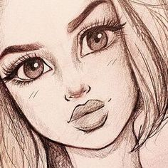 Малюнок Cute Drawings, Drawing Sketches, Pencil Drawings, Drawings For Girls, I Love You Drawings, Disney Drawings, Beautiful Drawings, Pencil Art, Sketching