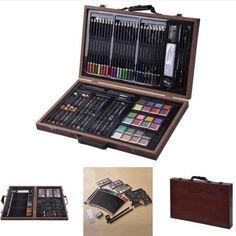 Beginners Drawing Art Set Box Kids Sketching Painting Arts Supplies Pencils Case #BeginnersDrawingArtSetBox