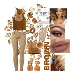 """# brown"" by nmanuel102809 ❤ liked on Polyvore featuring Gianvito Rossi, R95th, Sole Society, Oakley, MICHAEL Michael Kors and Miss Selfridge"