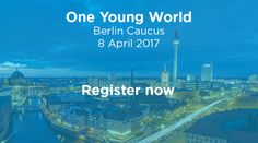 One Young World | Where young leaders start leading.