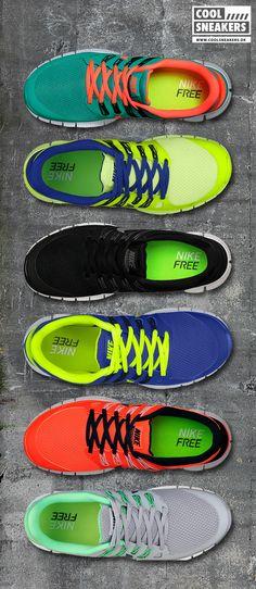 Nike Free 5.0 Spring 2013 / Follow My SNEAKERS Board!
