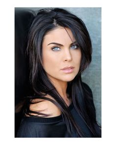 If I could pull off black hair and had blue eyes