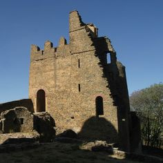 Recreation of the palace at Dungur, Ethiopia