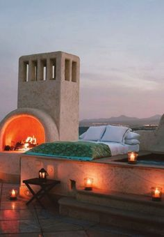 We wouldn't mind bunking here for a day or two!