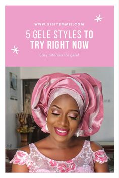 Really easy African Gele tutorials! Cooking Fried Rice, Carribean Wedding, Nigeria Food, Jollof Rice, South African Recipes, African Fashion, Ankara Fashion, African Style, Aso Ebi Styles