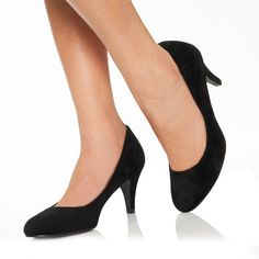 I need some cute, simple kitten heels like these!