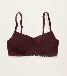Aerie Lace Pushup Scoop Bralette.  New! All the perks of your best bralette, now…