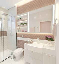 Ideas For Modern Bathroom Apartment Design Modern Bathroom Decor, Glass Bathroom, Bathroom Interior Design, Small Bathroom, Bathroom Wall, Aesthetic Rooms, Dream Rooms, Apartment Design, Amazing Bathrooms