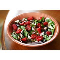 Every delicious calorie via Polyvore