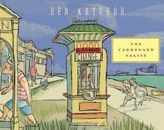 The Cardboard Valise by Ben Katchor  Although they rarely meet, their lives intertwine through the elaborate fictions they construct and inhabit: a vast panorama of humane hamburger stands, exquisitely ethereal ethnic restaurants, ancient restroom ruins, and wild tracts of land that fit neatly next to high-rise hotels. The Cardboard Valise is a graphic novel as travelogue; a canvas of semi-surrealism; and a poetic, whimsical, beguiling work of Ben Katchor's dazzling imagination.