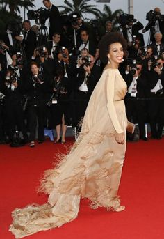 solange knowles in stephane rolland - cannes 2013