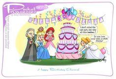Disney Pixar, Walt Disney, Disney Fan Art, Cute Disney, Disney Animation, Disney Magic, Pocket Princesses, Pocket Princess Comics, Dreamworks