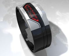 Futuristic Clothing For Men | Tokyoflash, LED Bracelet Watch, Futuristic Gadget