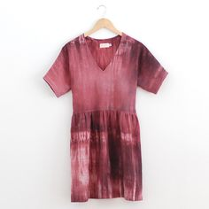 I want to do this tie dye effect on one of the dresses I am making for Leah.