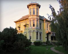 Italianate style mansion in Ohio. Built 1866-1868 for Valentine Doller.