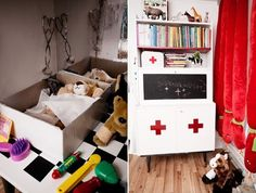 "Kids ""Animal Hospital"" complete with ""X-rays"". Super cute idea! Embrace Your Child's Dreams — Dos Family 