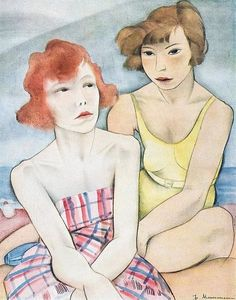 On The Beach. Jeanne Mammen