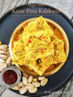 Kalakand is a popular Indian Sweet made during festivals and celebrations such as Navratri, Diwali, Eid and Holi. To make kalakand crumbled paneer (milk solid/chenna/cottage cheese/ricotta cheese) …