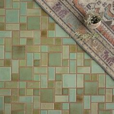 A trendy twist on a classic pattern. Our are the perfect way to take your bungalow style home to the next level. Craftsman Tile, Craftsman Bathroom, Craftsman Interior, Craftsman Style Homes, Craftsman Fireplace, Craftsman Decor, Craftsman Houses, Craftsman Cottage, Cottage House