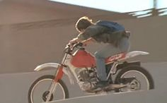 Honda XR 100 motorcycle from Terminator 2: Judgement Day