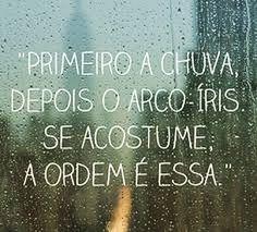 Primeiro chuva depois arco-íris. Se acostume a ordem é essa  #agentenaoquersocomida #avidaquer @avidaquer por @samegui
