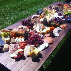 Artisan antipasti table ready and waiting! Set up backcountry of Moonlight Stables, Queenstown #artisanc8r #queenstown #weddings #corporate #events #eventcatering