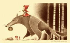 Canvascope at deviant art - Little Red Riding Hood