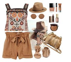 """""""Untitled #400"""" by jovana-p-com on Polyvore featuring Spell & the Gypsy Collective, MANGO, Warehouse, Qupid, Diane Von Furstenberg, rag & bone, Sunday Somewhere, L'Oréal Paris, NARS Cosmetics and Clinique"""