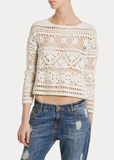 Crochetemoda: Blouses - inspiration only, no pattern