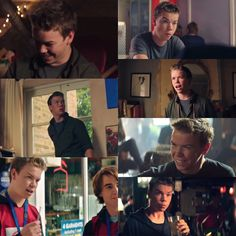 Will Poulter in the movie Kids In Love
