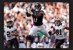 Daily Fantasy Football NFL 2016 Week 10Experts Wide Receivers top Picks for Fanduel & DraftKings ELITE OPTION: Demaryius Thomas DEN @ NO (DK: $6700 FD: $7500)Thomas, like many wide receivers in the 2016 season, is likely to benefit from playing against a Saints defence that is way