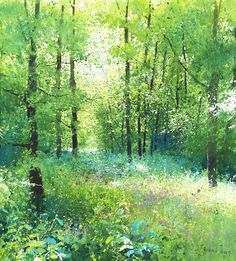 Richard Thorn (British, 1952-) > Early in the Wood