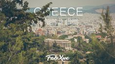What we concern the most during our city break holiday in Athens, is the paradox of using SHORT time-frame to experience the paramount history and to visit significant amount of landmarks. We hope sharing our 36-hour Athens experience as your Travel Guide can help you to make the most of your short stay also live like an Athenian.