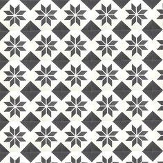 carreau de ciment décor étoile par parquet-carrelage.com