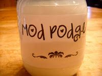Mod Podge Recipe!!