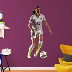 13d0ced1f Fathead Alex Morgan Wall Decal - 66-66181 Soccer Room