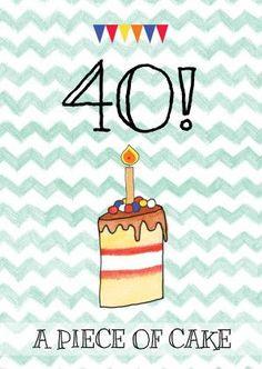 Afbeeldingsresultaat voor verjaardag 40 vrouw