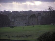 Witton Castle is a much altered 15th century castle, which is the centrepiece of a holiday and caravan country park at Witton le Wear, near Bishop Auckland, County Durham. It is a Grade II* listed building