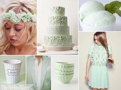 I fell in love with the mint colour lately and even paint my nails this colour.    theperfectpalette.com