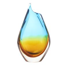 Novica Sunny Sea Vase