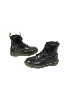 Vintage Dr. Marten 1460 Lace Up Boots Made in by PacificWonderland, $120.00