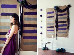 Inexpensive Back Drop Ideas