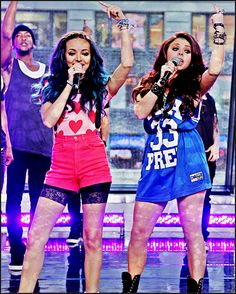 Jade Thirlwall & Jesy Nelson Little Mix Girls, Jesy Nelson, Cheer Skirts, Best Friends, Punk, Wonder Woman, Tumblr, Superhero, Celebrities