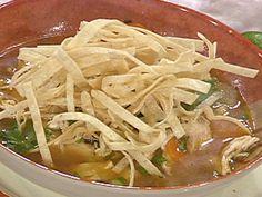 Sopa de Lima (Yucatan Lime Soup) recipe from Emeril Lagasse via Food Network