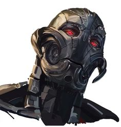 #Ultron art by Dan Berry ( #Marvel #Avengers #age #of #ultron #Badass #villain #awesome #Fanart)