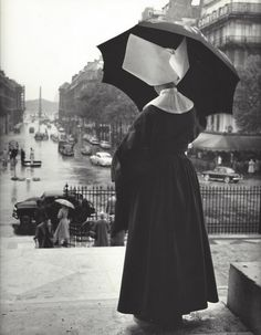 Kees Scherer, Nun, Paris, 1950s.