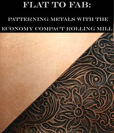free Tutorial: Patterning Metals with the Compact Rolling Mill